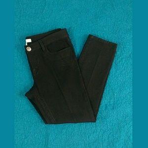 Like New Banana Republic Black Stretch Jeans